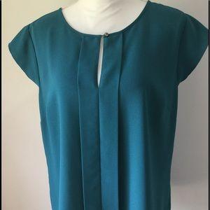 Ann Taylor Factory Green blouse - Size L